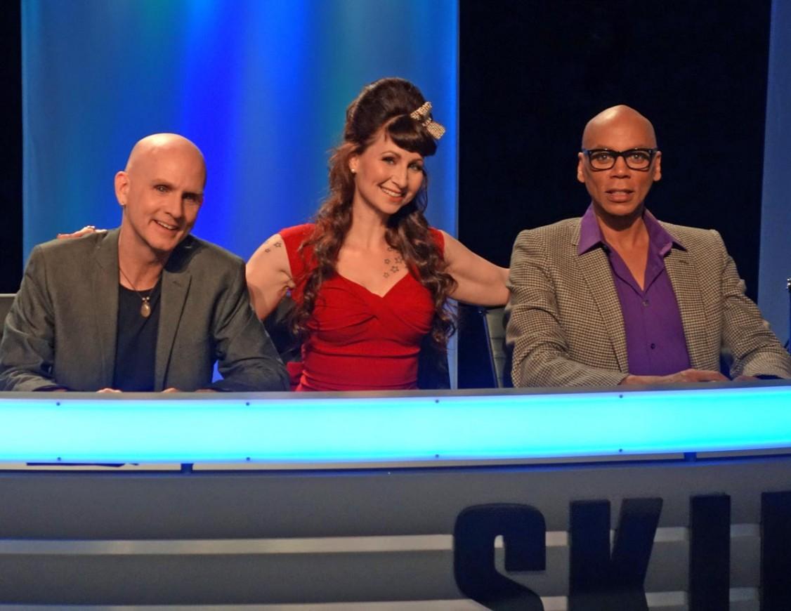 Skin-Wars-Craig-Tracy-Rupaul-Robin-Slonina-Jury-Judges-GSN