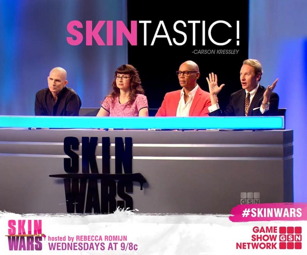 Skin-Wars-Jury-Judges-Craig-Tracy-Robin-Slonina-Rupaul-Carson-Kressley-GSN