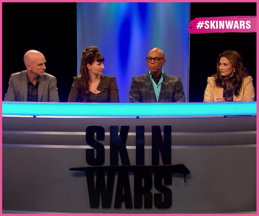 Skin-Wars-Jury-Judges-RuPaul-Craig-Tracy-Lynda-Carter-Wonder-Woman-