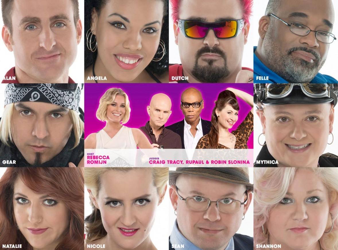 Skin-Wars-cast-GSN-Craig-Tracy