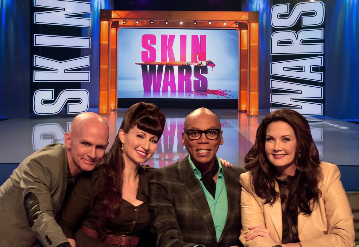 Skin-Wars-mix-Craig-Tracy-Rupaul--wonder-woman-Lynda-Carter-jury-judges