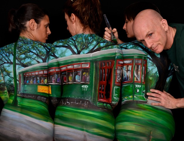 Brand New Project World Bodypainting Festival Traveling To New